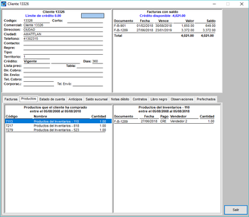 Pantallazo control + F datos productos2